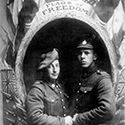 Image of Charles Masse and fellow soldier, likely taken in 1918.