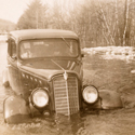 Car-being-towed-in-1936-flood-Ossipee-Valley-NH.